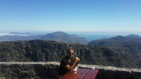 Montagne de la Table : Uma vista incrivel...
