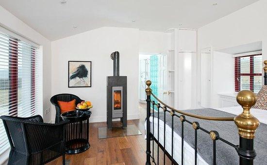 Clare Island Lighthouse: Sauna Suite