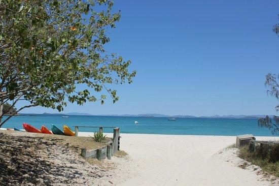 Great Keppel Island Holiday Village: Main beach