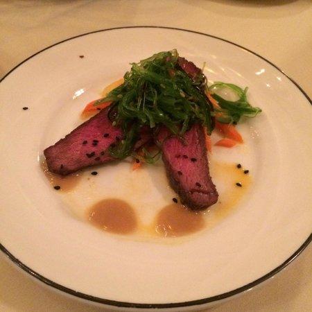 Craftwood Inn: Ostrich Tataki