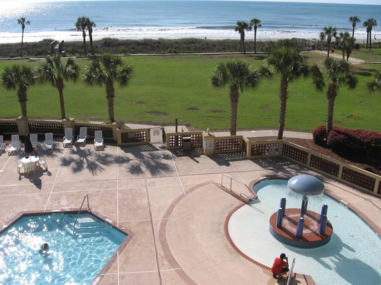 DoubleTree Resort by Hilton Myrtle Beach Oceanfront: Room View at Beach Resort
