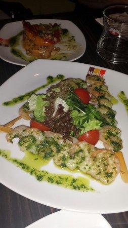 Medite: Grilled shrimps