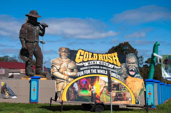 Gold Rush Mini Golf