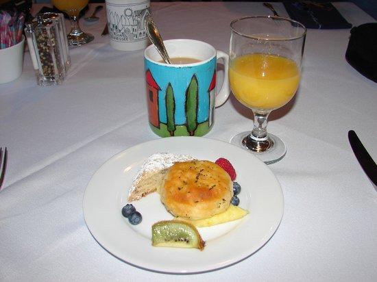 Monteagle Inn & Retreat Center : Breakfast