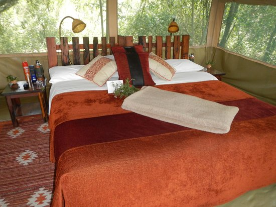 Kicheche Laikipia Camp: The welcoming bedroom