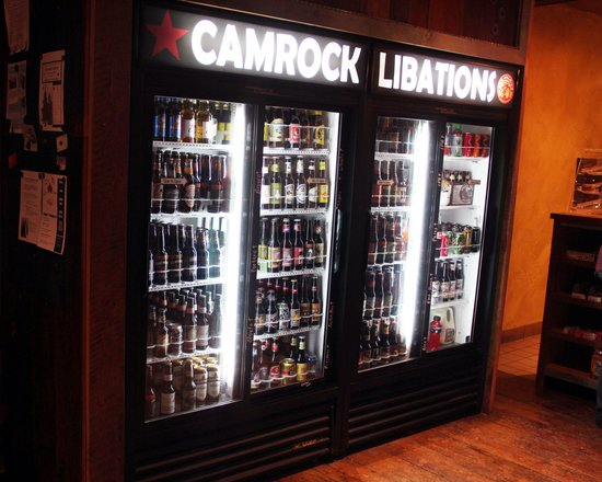 CamRock Cafe and Sport: 100+ Craft Beer Selection