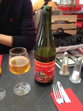 La Mère Poulard Café : ラメールプラールのシードル
