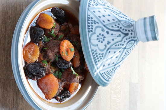 Flavours of Morocco: Signature dish - Lamb, Apricot, Prune Tagine