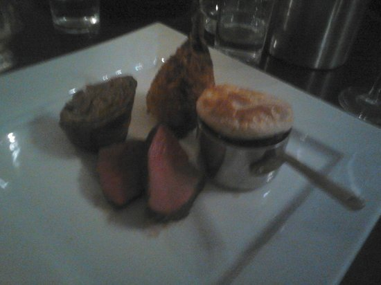 31 Castlegate Restaurant: assiette of venison simply immaculate dish!!!