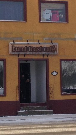 Burnt Toast Cafe: The Front of the Restaurant