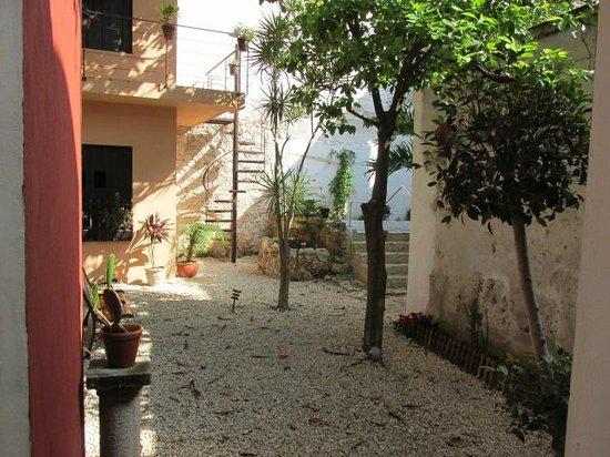 Hotel Casa Carmita: Patio