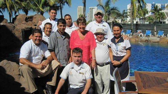 El Cid Marina Beach Hotel: Iguana Pool
