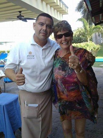 El Cid Marina Beach Hotel: Abraham & me