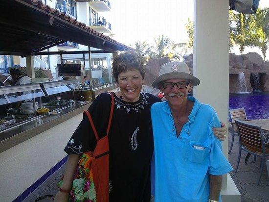 El Cid Marina Beach Hotel: Fun times at the Iguana Pool