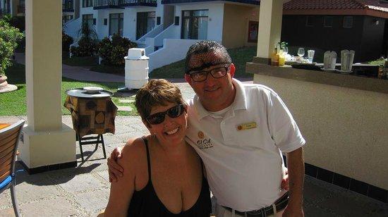 El Cid Marina Beach Hotel: Me & Fidel
