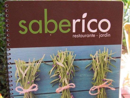 Sabe Rico: the menu