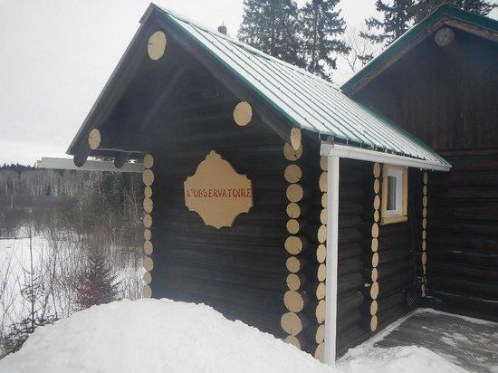 Domaine Le Bostonnais : our Cabin