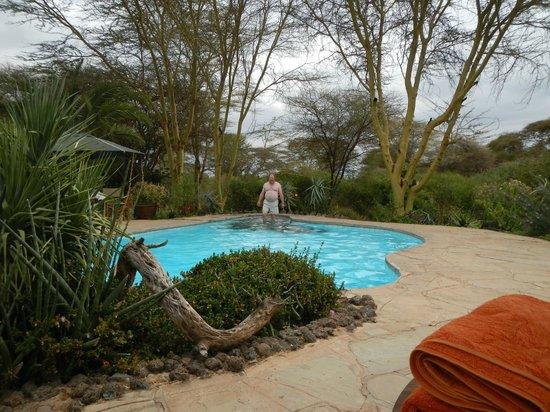 Tortilis Camp: Freezing cold pool