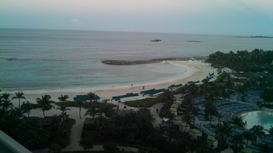 The Cove Atlantis, Autograph Collection : View from our room as sun was setting