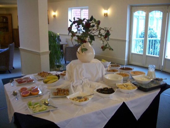 The Flackley Ash Country House Hotel: Breakfast buffet