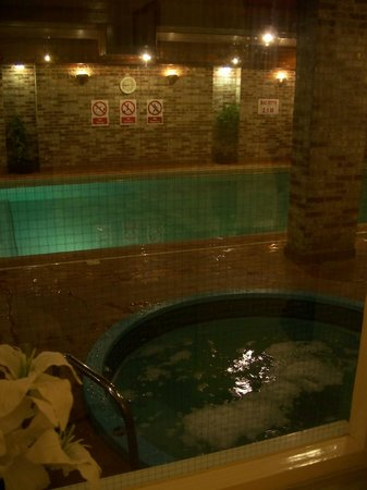 The Flackley Ash Country House Hotel: Pool and jacuzzi