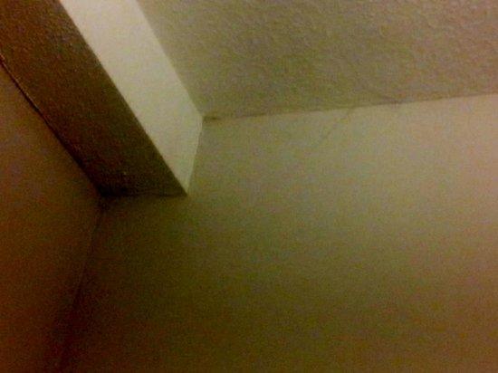 Healey Hotel: ceiling cobwebs
