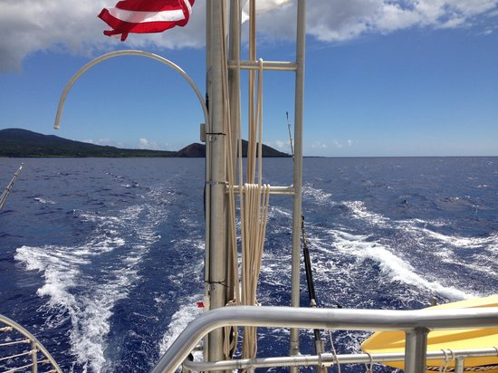 Kai Kanani Sailing Charters: Leaving shore...