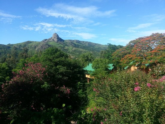 Mantenga Lodge: view