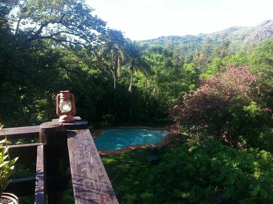 Mantenga Lodge : pool