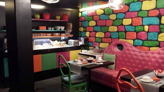 Cristal Champs Elysees: Sala colazione