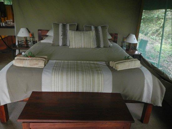 Rekero Camp, Asilia Africa: Bedroom