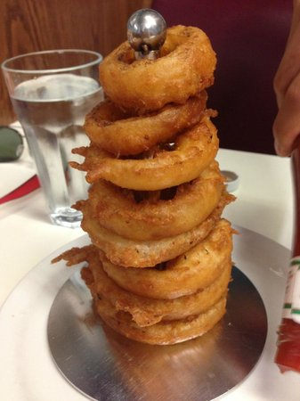 Penrose Fish & Chips: Wicked stack of onion rings