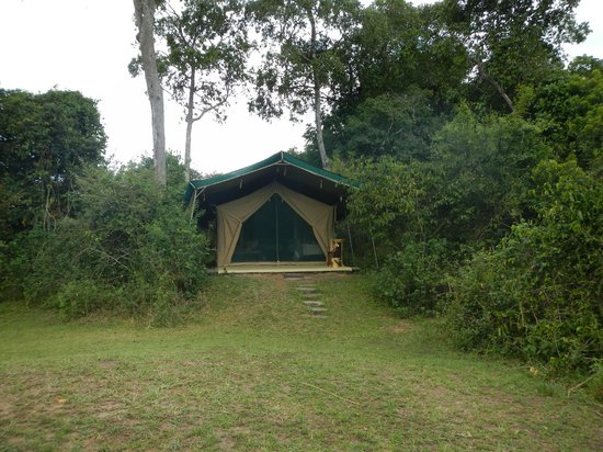 Rekero Camp, Asilia Africa: Outside of tent