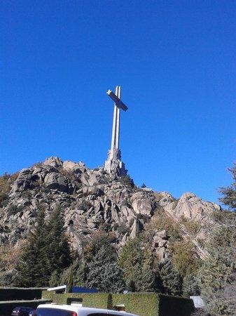 Valle de los Caídos: croce