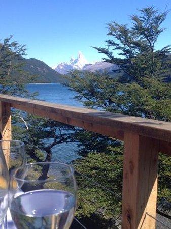 Aguas Arriba Lodge: view from Aguas Arriba