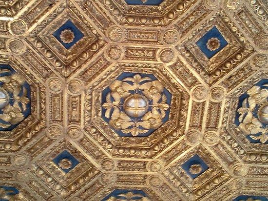 Palazzo Vecchio: un plafond à caisson