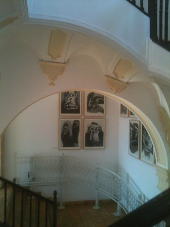 Museo del Objeto Encontrado - Fundación Antonio Pérez: Desde arriba
