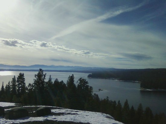 Ponderosa State Park: View from Osprey Point