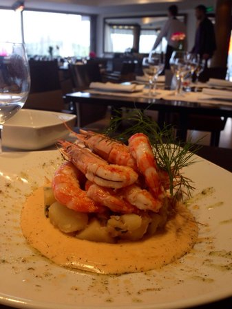 Panta Rei: Grilled prawns. Delicious