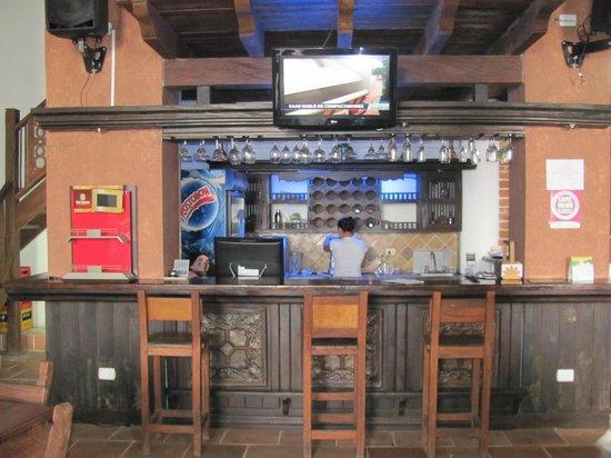 Las Palmeras Hotel Colonial: Hotel bar