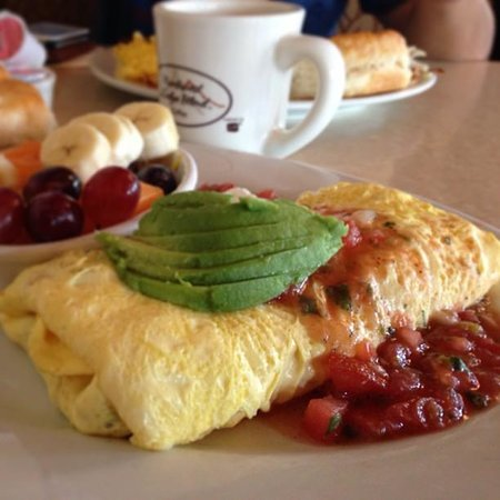 "Elmer's Restaurant - Springfield : ""Looking for Sun"" Omelet"