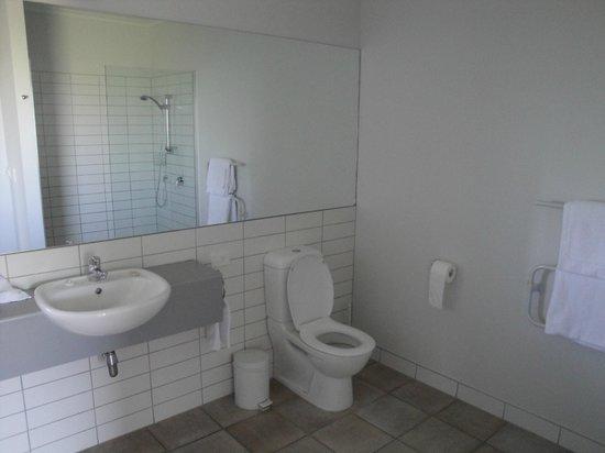 Marlborough Vintners Hotel : No bath, but large modern bathroom