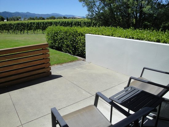 Marlborough Vintners Hotel : What a view