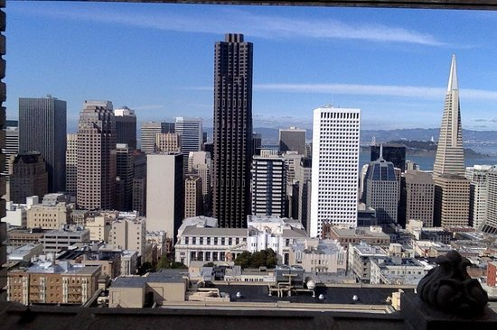 InterContinental Mark Hopkins San Francisco: View from the 15th Floor