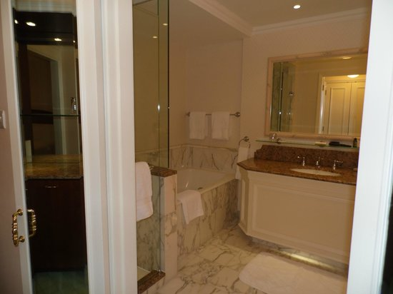 InterContinental Dublin: Only captured half of the bathroom!