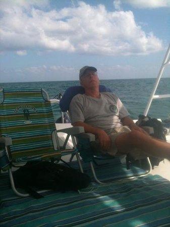 Searious Adventures: donny enjoying the trip!