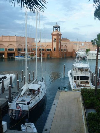 Atlantis - Harborside Resort : View of the harbor from Building 7