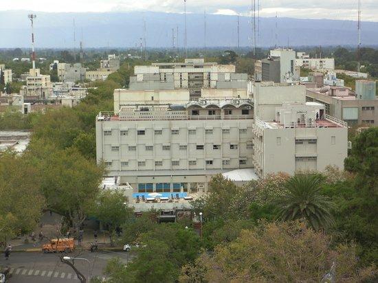 Gran Hotel Provincial San Juan: Vista del Hotel desde la torre de La Catedral