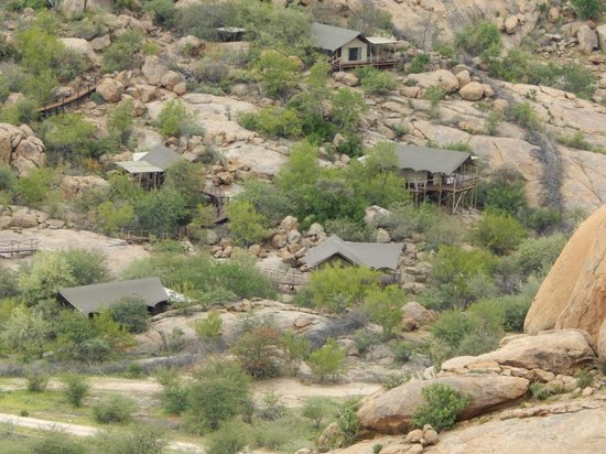 Erongo Wilderness Lodge: Camp Overview
