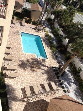 Siesta Sands Beach Resort : 2nd Pool / View from Condo Balcony